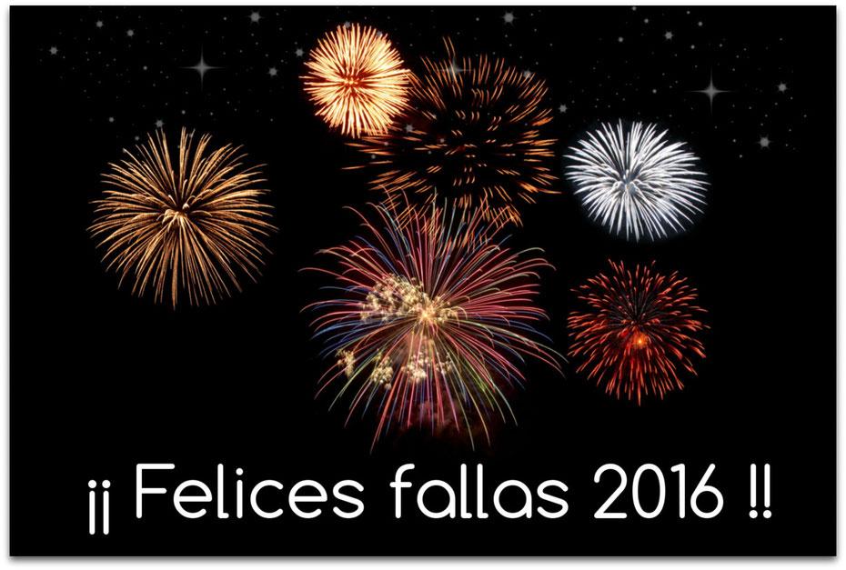 Felices Fallas 2016