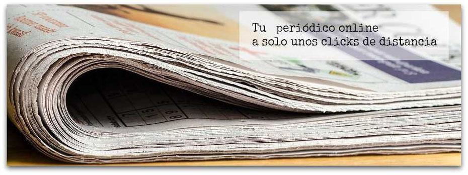 Tu periódico online un unos pocos minutos
