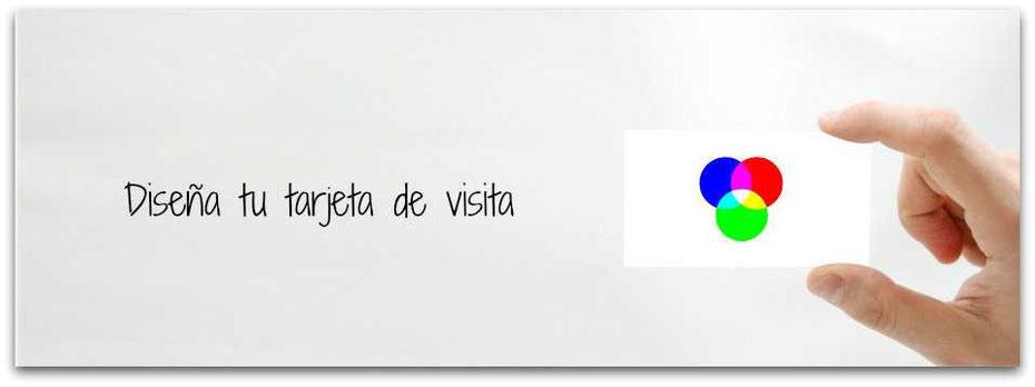 Diseña tu tarjeta de visita, RGB y CMYK