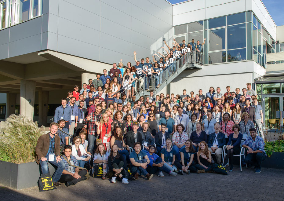 Organizers and participants of Horizons in Molecular Biology 2018