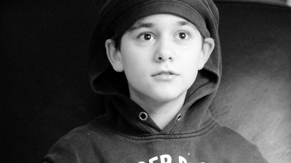 November 2014, aged 12.
