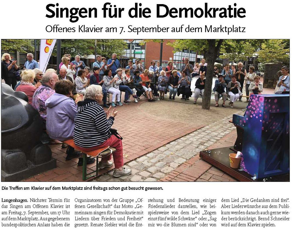 Langenhagener ECHO vom 5. September 2018
