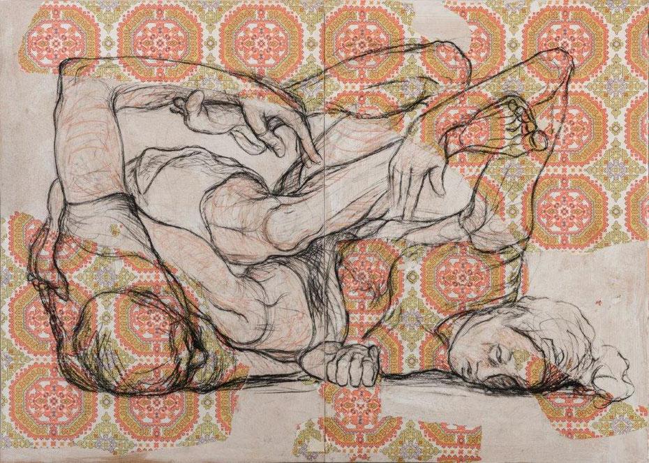 Trashqueens, 150 x 300 cm, 2019