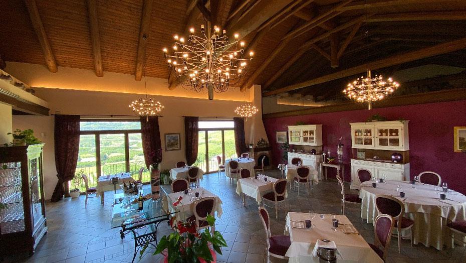 Sala panoramica del ristorante