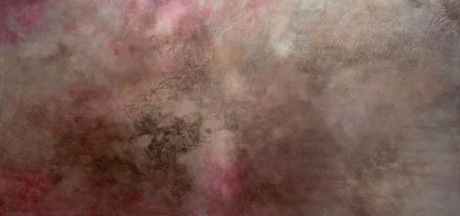 """Polluted Sky of Romanticism"", 2010, 200 x 100 m, Öl auf Leinwand"