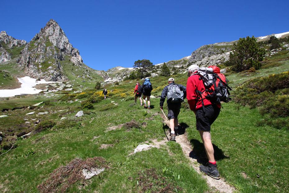Fête de la Randonnée des Pyrénées Audoises - juin 2015 au Pic du Madres