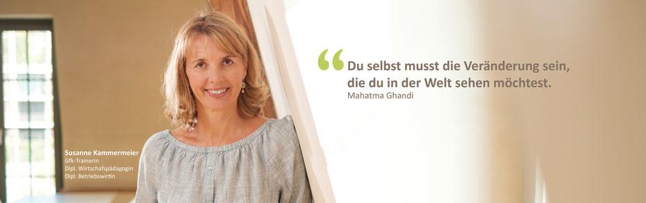 Marshall B. Rosenberg, Schulungen, GfK, gewaltfreie Kommunikation, Susanne Kammermeier, Schweiz, Solothurn