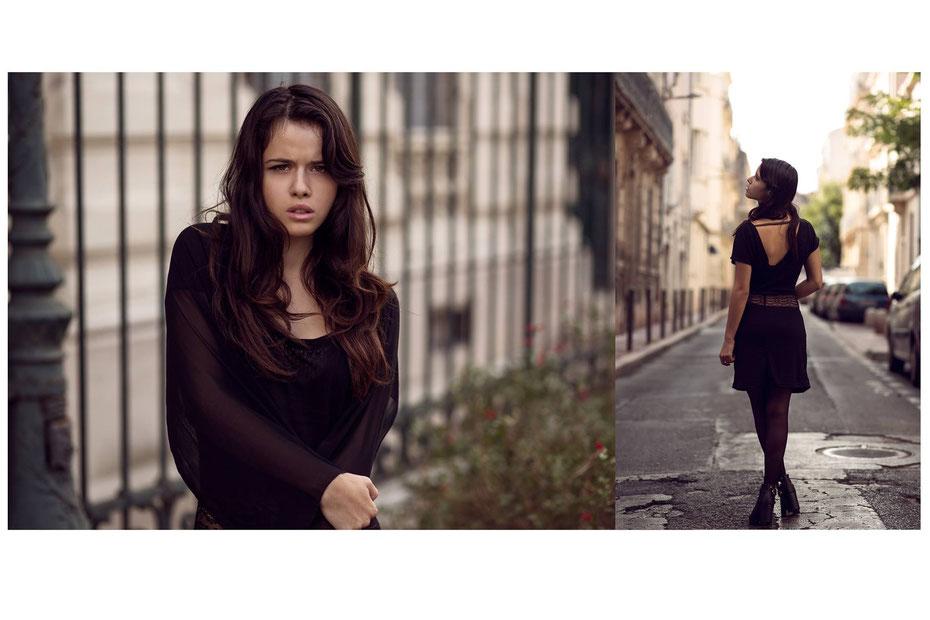 BMG photographie.  modèle Loriane