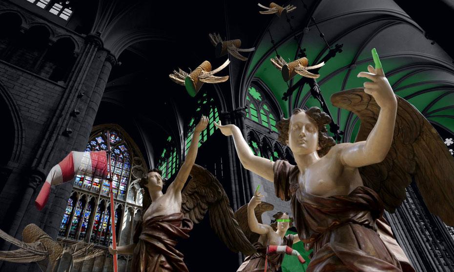 ANGELS [100 x 60cm]