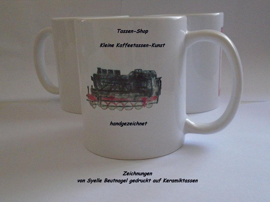 Der Kaffeetassen-Shop, Online-Shop für bedruckte Kaffee-Tassen von Syelle Beutnagel