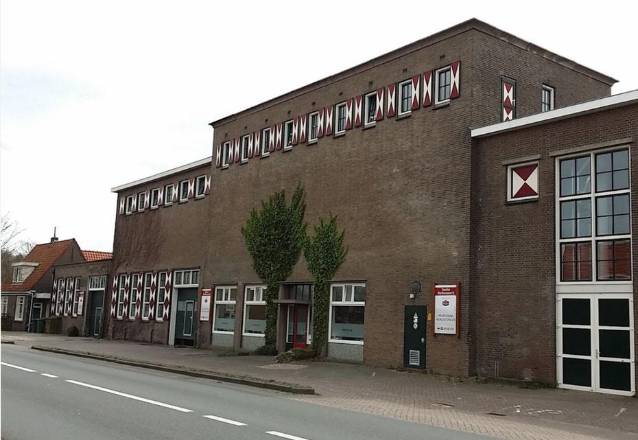 """<img src=""""image.jpg"""" alt=""""Het gebouw van de Texelse bierbrouwerij, de vroegere melkfabriek, in Oudeschild op Texel"""">"""