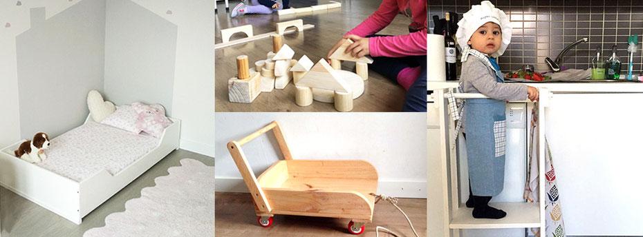 Materiales y mobiliario infantil artesanal kutuva materiales y mobiliario infantil artesanal - Mobiliario infantil valencia ...