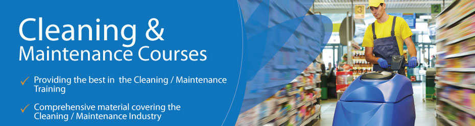 Cleaning and maintenance Courses