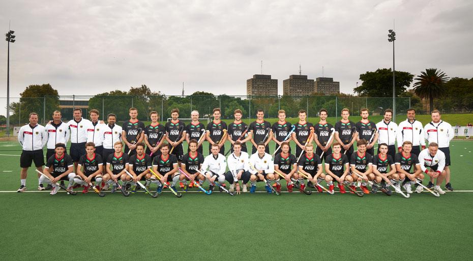 Zentrallehrgang der Deutschen Hockey Nationalmannschaft - Johannesburg/Südafrika 2020