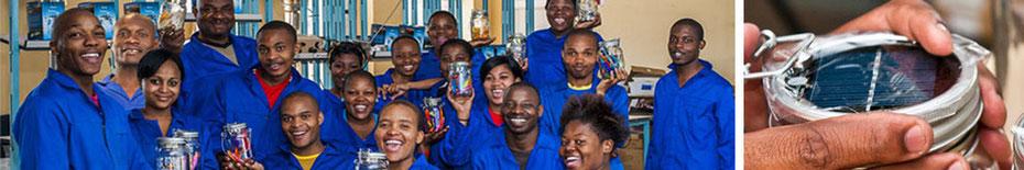 romantische cuptime Sonnenlgas nachhaltig Sonne Licht speichern Dekoration Handarbeit Südafrika