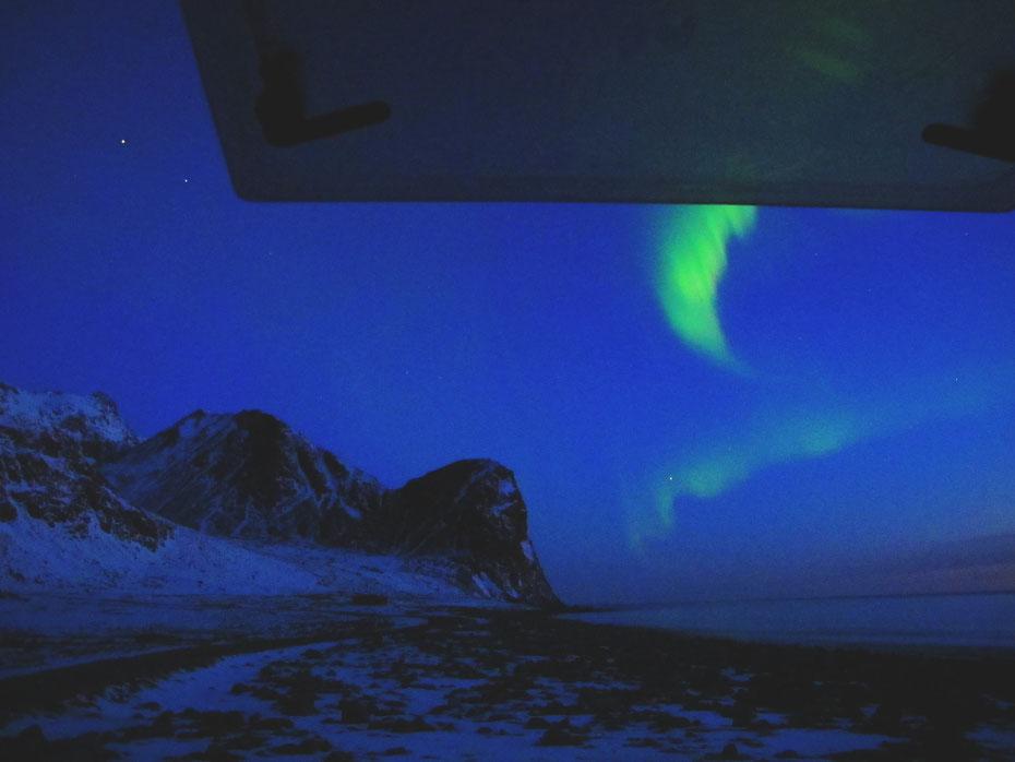 norvege aurore boreale lofoten