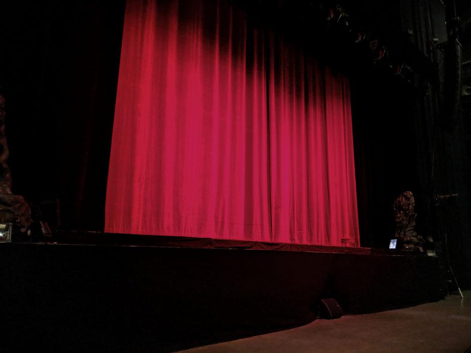 Aufgrund der Urheberrechte, sind Fotos während des Musicals leider verboten.