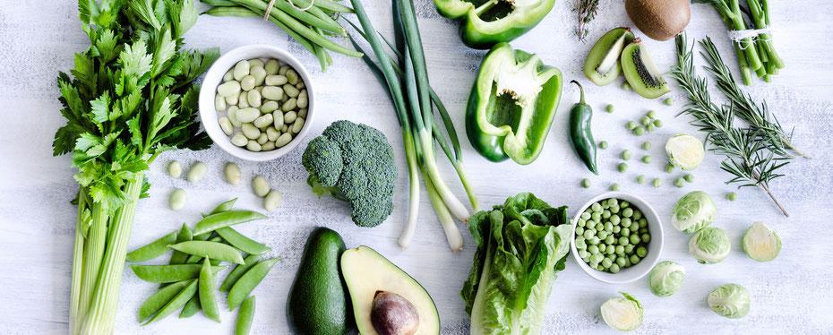 Titelbild Beratung Iosca Gemüse Grün Ernährung