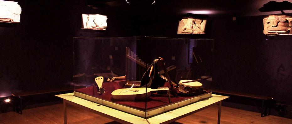 Instrumentarium du Musée du Quercorb à Puivert