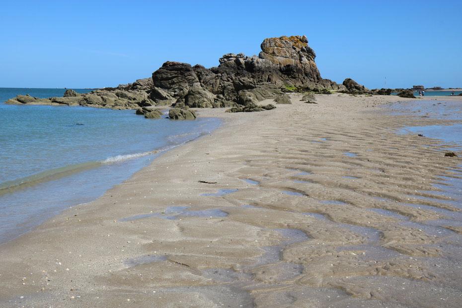 Archipel des Ebihens à Saint-Jacut-de-la-Mer sur la Côte d'Emeraude