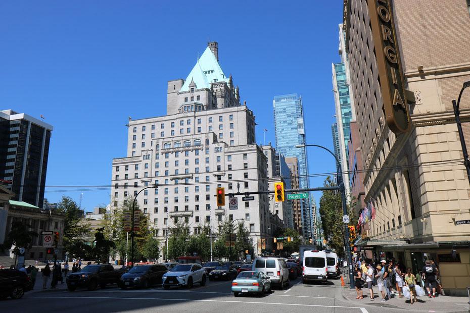 Fairmont Hotel, Downtown, Vancouver
