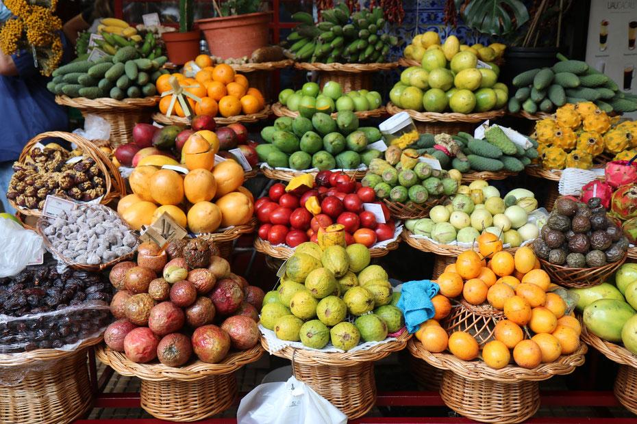 Mercado dos Lavradores à Funchal, Madère