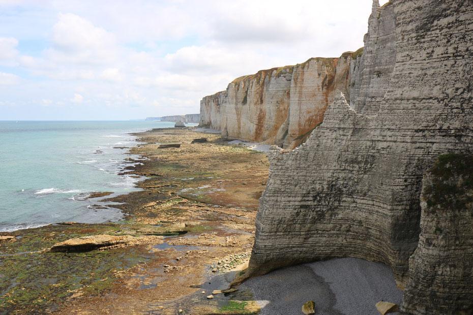 Falaises d'Etretat, falaises d'amont