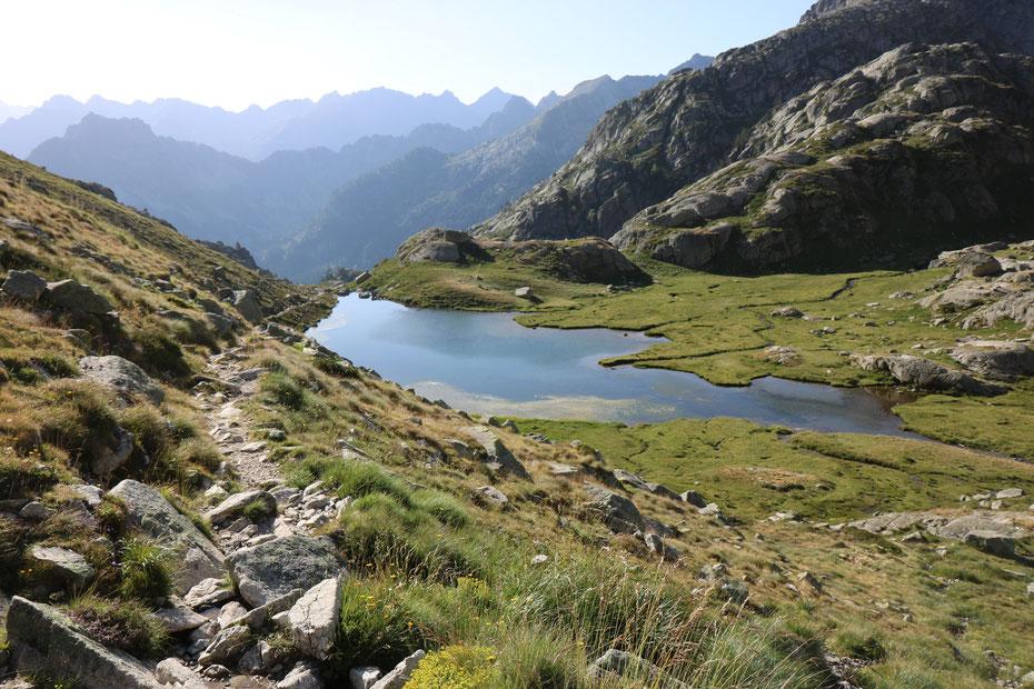 Lac de l'Embarrat supérieur, Circuit des Lacs, Vallée du Marcadau, Cauterets, Pyrénées