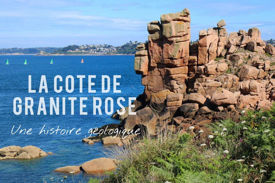 Chaos granitique à Ploumanac'h sur la Côte de granite rose