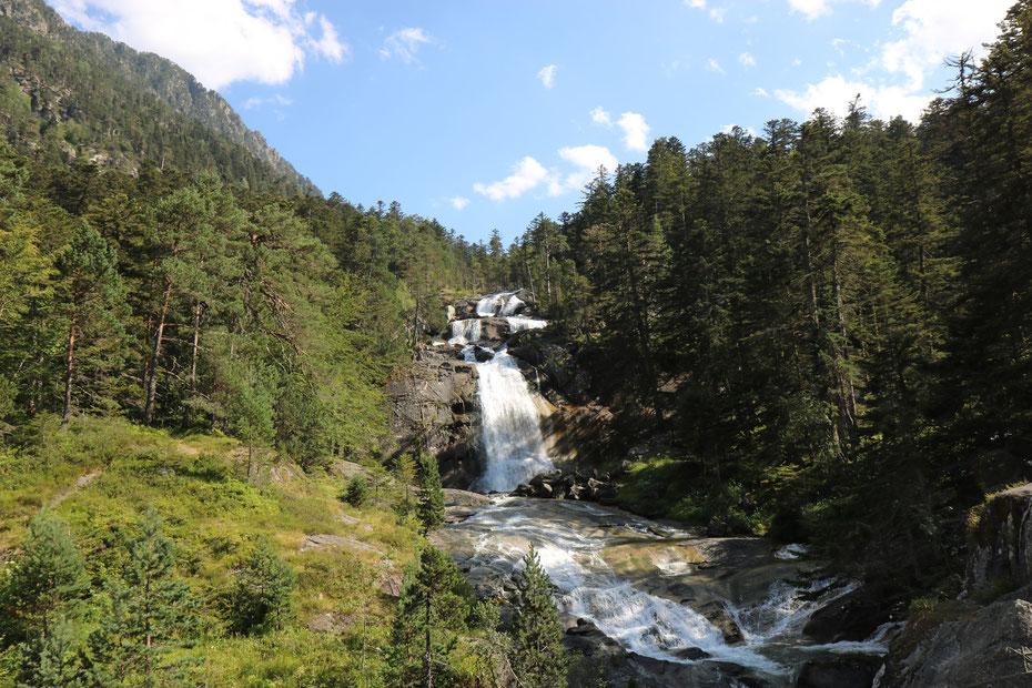 Cascade du Pont d'Espagne, Cauterets, Parc National des Pyrénées