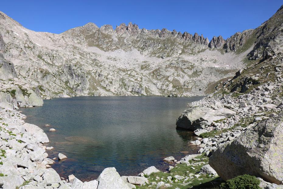 Lac du Pourtet, Circuit des Lacs, Vallée du Marcadau, Cauterets, Pyrénées
