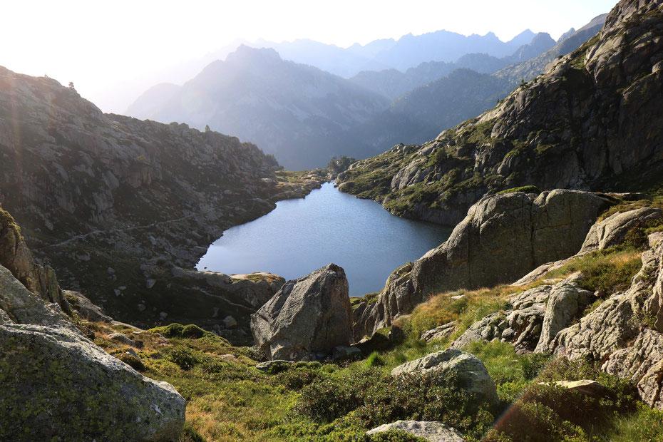 Lac de l'Embarrat inférieur, Circuit des Lacs, Vallée du Marcadau, Cauterets, Pyrénées