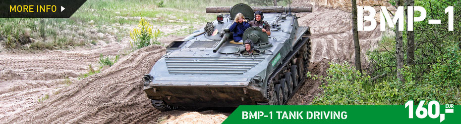 BMP-1 TANK DRIVING