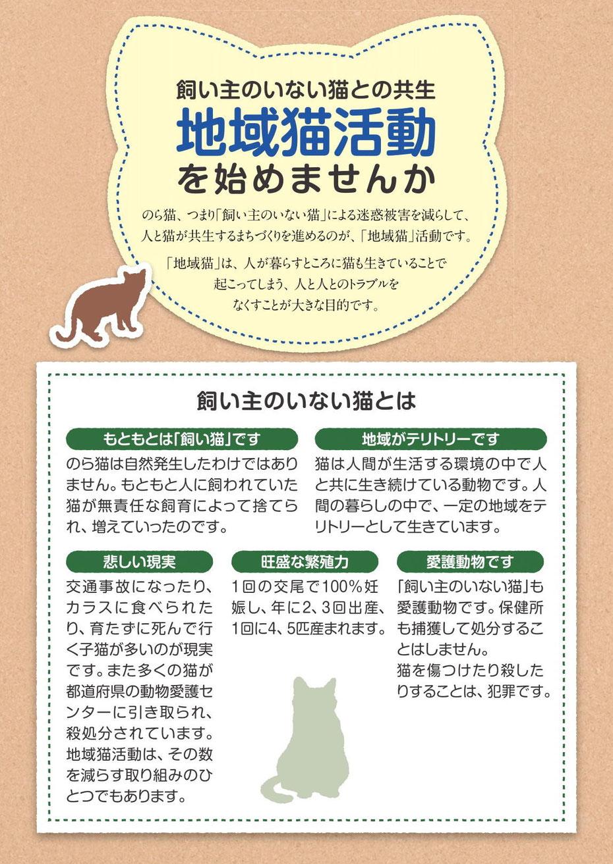 飼い主のいない猫との共生 地域猫活動を始めませんか 飼い主のいない猫とは もともとは「飼い猫」です 地域がテリトリーです 悲しい現実 旺盛な繁殖力 愛護動物です