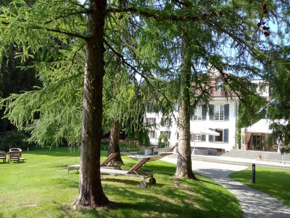 Ort der Stille - Ort meiner Seminare, das Schloss Hünigen in Konolfingen, BE