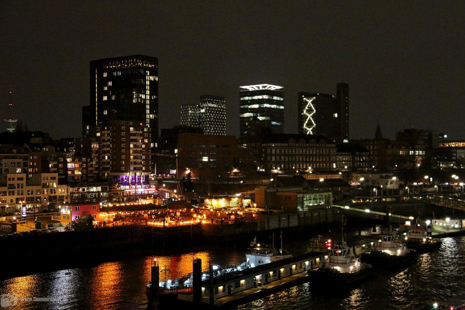 Hamburg - Hafen - Winter im hohen Norden