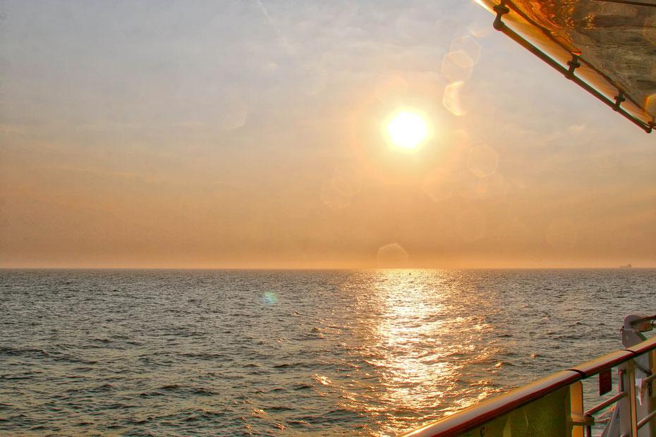 Auslaufen aus Zeebrügge