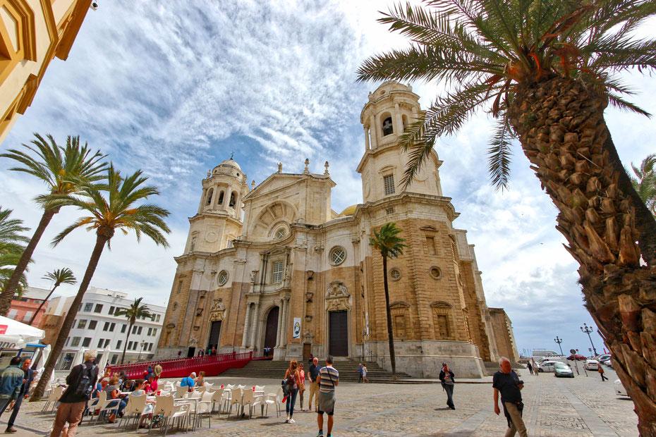 Die Kathedrale von Cádiz
