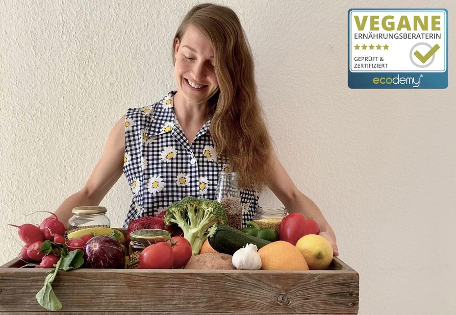 Jasmin mit Gemüsekiste