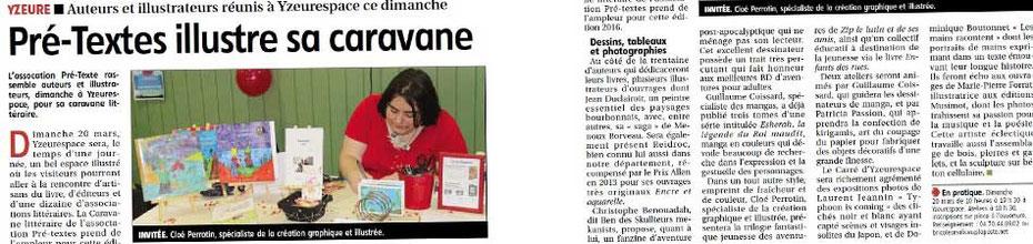 """Fany Vereecken et son livre """"J'ai récité et dessiné avec Mamy"""" avec une illustration de Cloé Perrotin est au Salon du Livre de Paris 2016"""