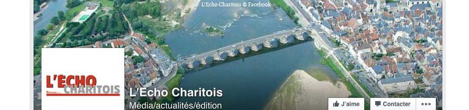 La page de couverture Facebook de l'Écho Charitois, sur le BLOG : la Bulle Ludique Originale Gratuite