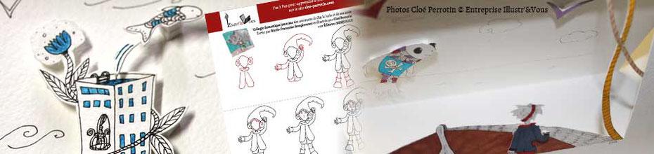 Les tutoriels, les DIY, les webinars et les Moocs pour votre auto-formation avec Cloé Perrotin via l'entreprise Illustr'&Vous