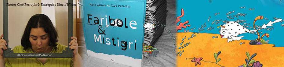 Le livre jeunesse Faribole et Mistigri paru chez YIL Edition, écrit par Marie Garnier et illustré par Cloé Perrotin à lire sans aucune modération