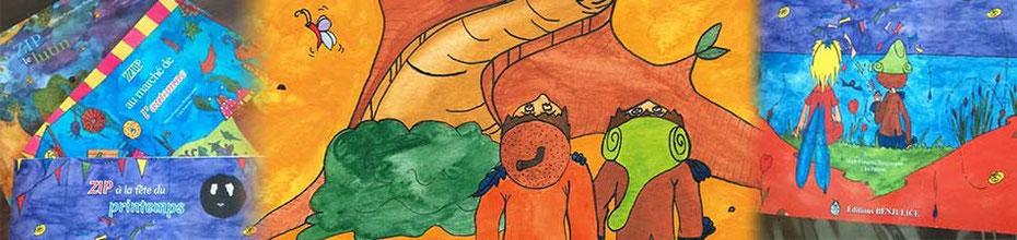 La trilogie fantastique jeunesse des aventures de Zip le lutin, sur le BLOG : la Bulle Ludique Originale Gratuite