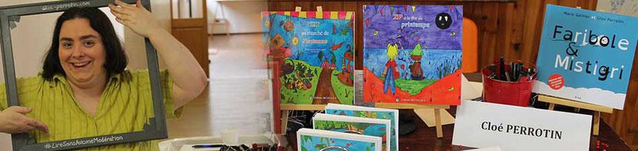 L'illustratrice Cloé Perrotin vous donne rendez-vous au Festival médiéval-fantastique et Salon du Livre Les Lithaniennes 2017 à Varzy dans la Nièvre