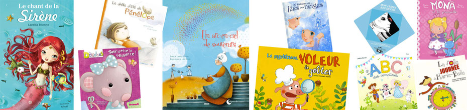 Bandeau de l'article de l'interview de l'auteur illustratrice Laetitia Etienne sur le Blog : la Bulle Ludique Originale Gratuite