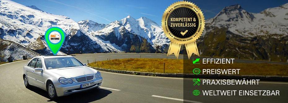 GPS Ortung - effizient, preiswert, praxibewährt, weltweit einsetzbar