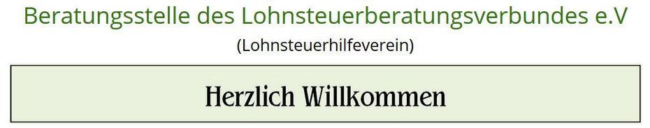 Sie suchen professionelle Hilfe durch einen Lohnsteuerhilfeverein bei der Einkommensteuererklärung in Regensburg?