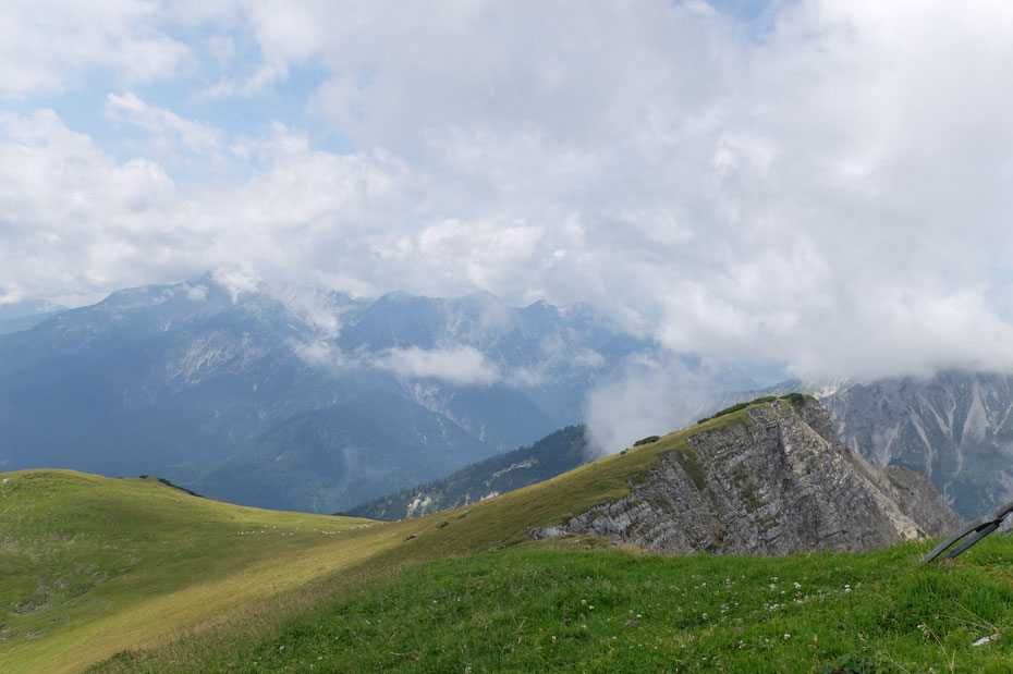 Auf dem Gipfel des Friederspitz