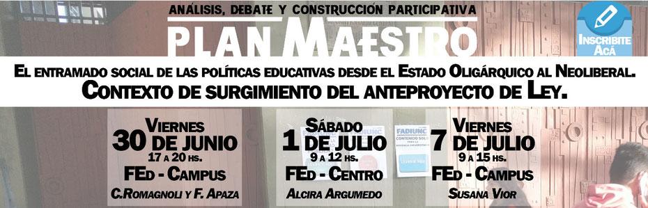 """EL ENTRAMADO SOCIAL DE LAS POLÍTICAS EDUCATIVAS DESDE EL ESTADO OLIGÁRQUICO AL NEOLIBERAL. CONTEXTO DEL SURGIMIENTO DEL """"PLAN MAESTR@"""" (PROCADOC) - CRISTINA ROMAGNOLI - FERNANDA APAZA - SUSANA VIOR - ALCIRA ARGUMEDO - 11 de Marzo"""